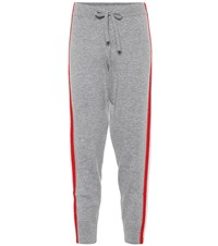 Jardin Des Orangers Wool And Cashmere Jogger Pants Grey