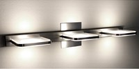 Holtkoetter 9584Led Wega Square 3 Light Wall Sconce