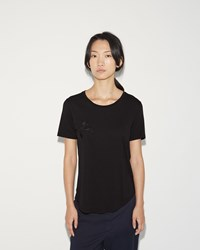Hope Embroidery One Tee Black