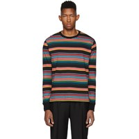 Paul Smith Ps By Multicolor Regular Fit Striped T Shirt