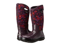 Bogs Classic Watercolor Tall Plum Multi Women's Rain Boots