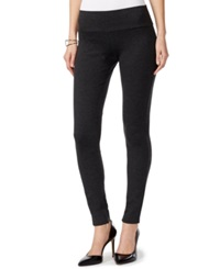 Inc International Concepts Pull On Ponte Skinny Pants Only At Macy's Dark Heather Grey