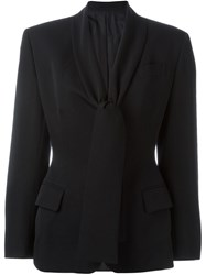 Jean Paul Gaultier Vintage Tailored Jacket Black
