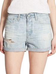 Ag Jeans Alex Distressed Shorts 22 Years Fearless