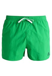 Adidas Performance Swimming Shorts Green White
