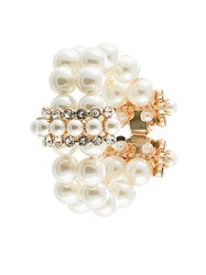 Dolce And Gabbana Double Faux Pearl Bracelet 60