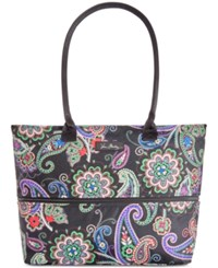 Vera Bradley Lighten Up Expandable Travel Tote Kiev Paisley