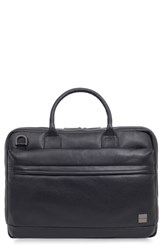 Knomo London Barbican Foster Leather Briefcase