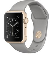 Apple Watch Series 1 38Mm Gold Aluminium Case With Concrete Sport Band One Colour