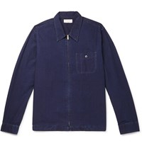 J.Crew Wallace And Barnes Cotton Ripstop Shirt Jacket Blue