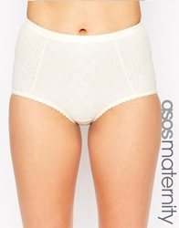 Cake Lingerie Cake Maternity Banana Parfait Control Brief Cream