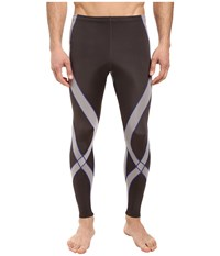 Cw X Pro Tight Gray Light Grey Blue Men's Workout Brown