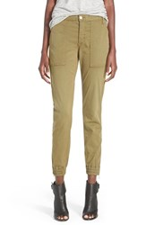 Joe's Jeans Women's Joe's 'Flight' Zip Ankle Jogger Pants Dark Olive