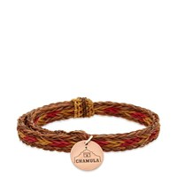 Chamula Braided Horsehair Bracelet Brown