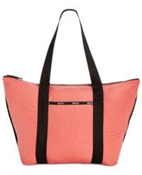 Le Sport Sac Lesportsac Travel System Large On The Go Tote Coral Gables