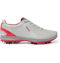 Ecco Biom G2 Leather Golf Shoes Light Gray