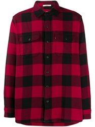 Levi's Checked Button Shirt Red