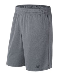 New Balance Versa Drawcord Shorts Grey