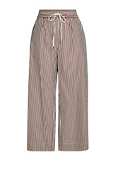 3.1 Phillip Lim Wide Leg Drawstring Pant With Cotton And Silk