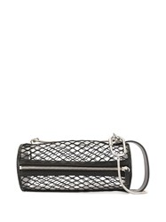 Salar Lali Netted Shoulder Bag Black
