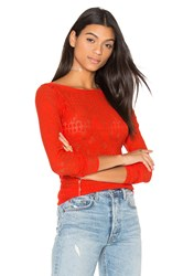Bcbgmaxazria Wylie Top Red