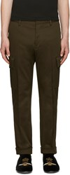 Dsquared Green Admiral Cargo Pants