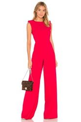 Jay Godfrey Reese Jumpsuit Red