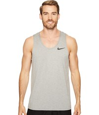 Nike Breathe Training Tank Pale Grey Dust Black Men's Sleeveless Gray
