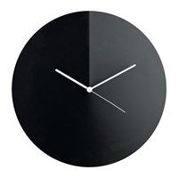 Alessi Arris Wall Clock Black