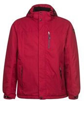 Killtec Lancu Outdoor Jacket Dunkelrot Dark Red