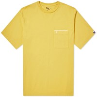 Nanamica Pocket Tee Yellow