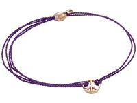 Alex And Ani Kindred Cord Peace Amethyst Assorted Bracelet Multi