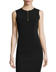 Calvin Klein Zip Placket Shell Black