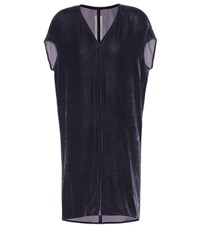 Rick Owens Velvet Tunic Purple
