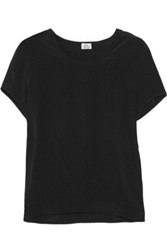 Iris And Ink Silk Crepe De Chine T Shirt