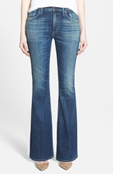 Citizens Of Humanity 'Fleetwood' High Rise Flare Jeans Harvest Moon Petite
