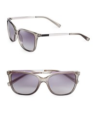 Calvin Klein 54Mm Square Sunglasses Grey