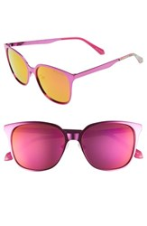 Lilly Pulitzer Landon 54Mm Polarized Sunglasses Pink Pink Pink Pink