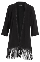 Zadig And Voltaire Fringed Knit Cardigan