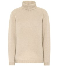 Jardin Des Orangers Exclusive To Mytheresa Cashmere Turtleneck Sweater Beige