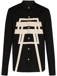 Rick Owens Out There Panelled Jacket Black