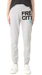 Freecity Feather Weight Sweatpants Silvercloud