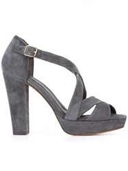 Tila March 'Nevada' Sandals Grey