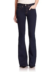 Rag And Bone The Beckett High Rise Flared Jeans Rivington