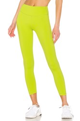Splits59 Kinney High Waist Tight Green