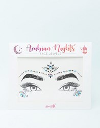 Barry M Limited Edition Arabian Nights Face Jewels Multi