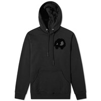 Mcq By Alexander Mcqueen Pixelated Monster Popover Hoody Black