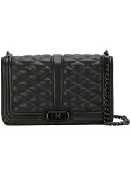 Rebecca Minkoff 'Love' Quilted Crossbody Bag Black