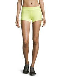 Alo Yoga Sweat It Trunk Shorts Sunny Lime Glossy