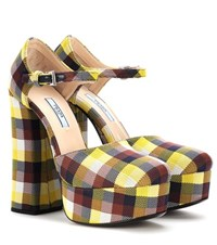 Prada Platform Pumps Multicoloured